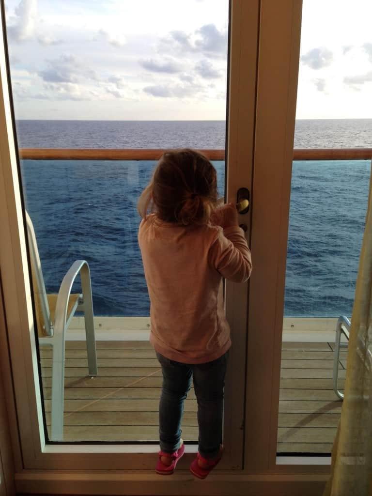 Balcone Gran suite Costa Mediterranea