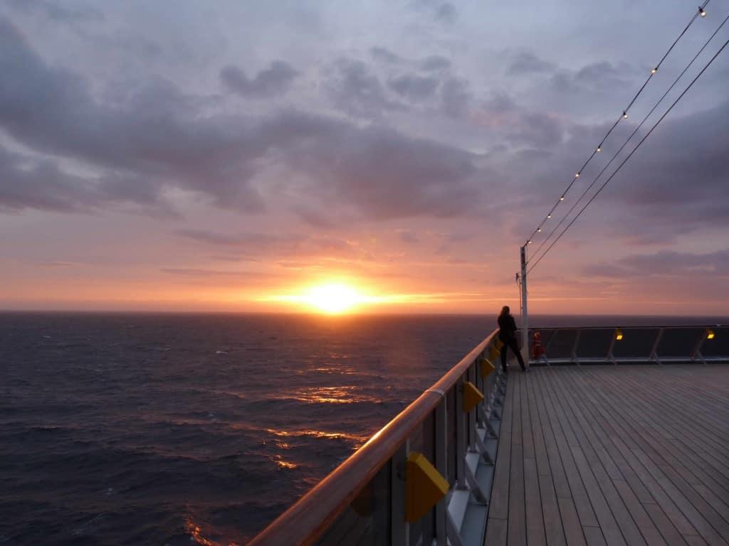 tramonto crociera