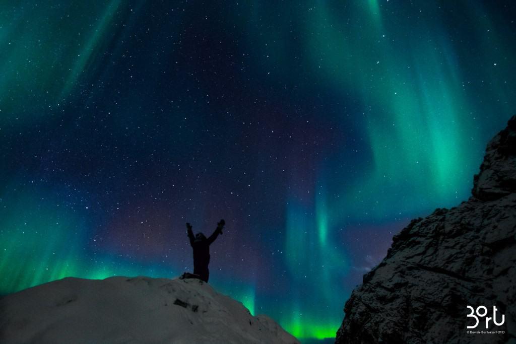 lapponia, aurora boreale