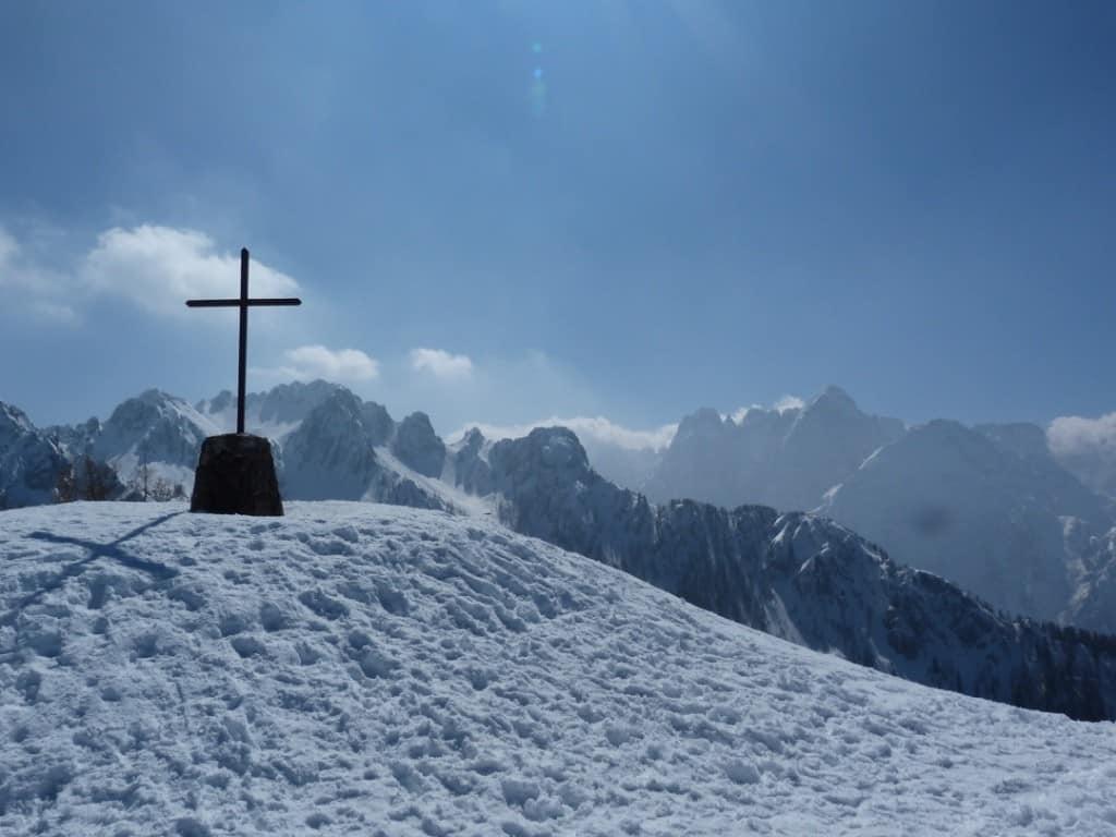 croce monte santo di Lussari