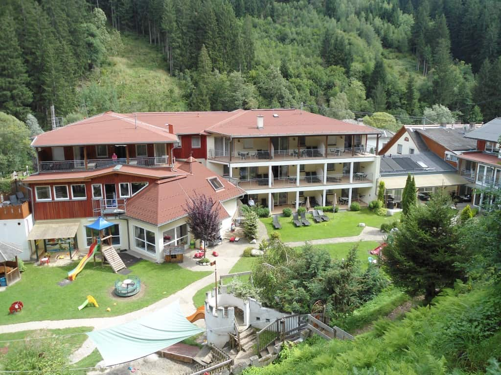 Panoramica dell'hotel Babydorf Trebesing