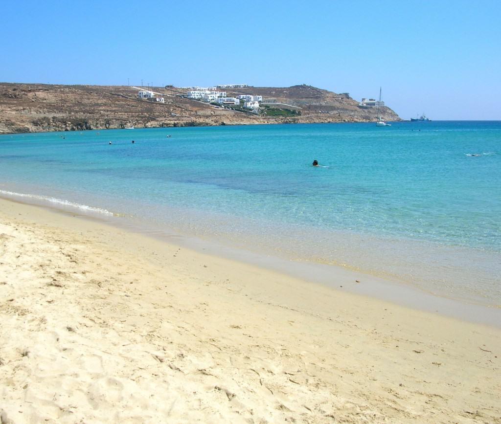 Spiaggia di Panormos Mykonos