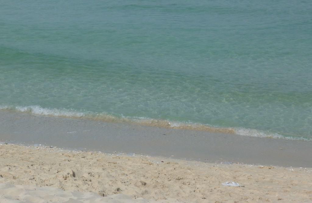 Sabbia bianca a Dubai