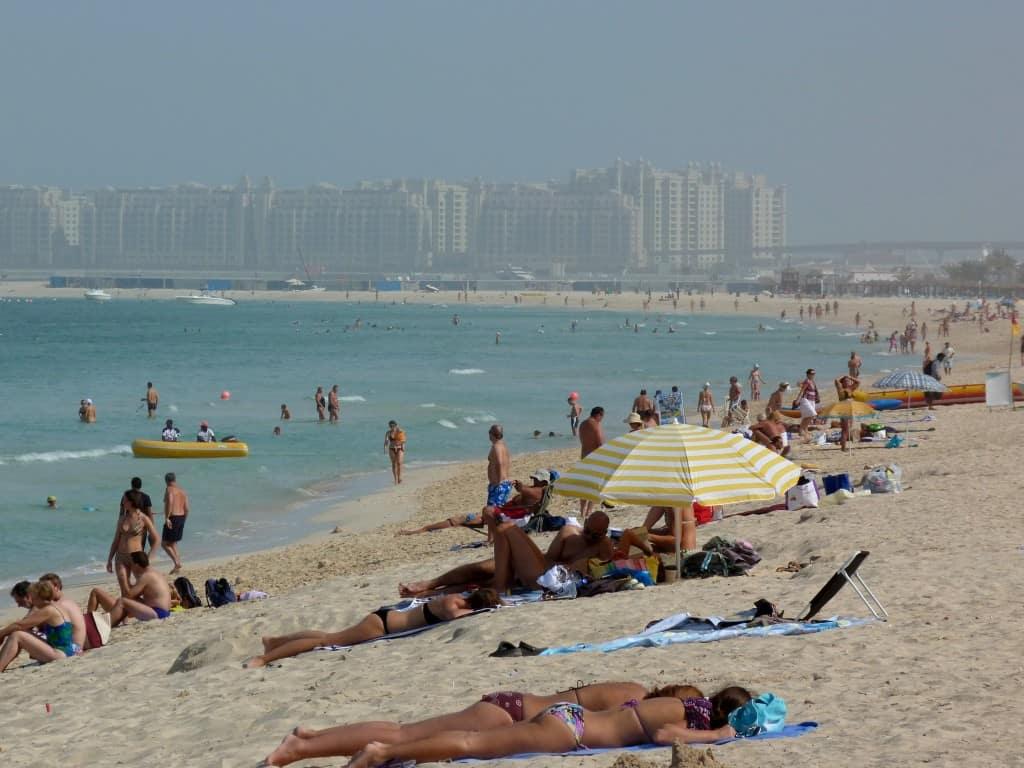 Spiaggia di Jumeirah Dubai