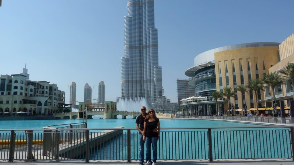 Saluti da Burj Khalifa Dubai