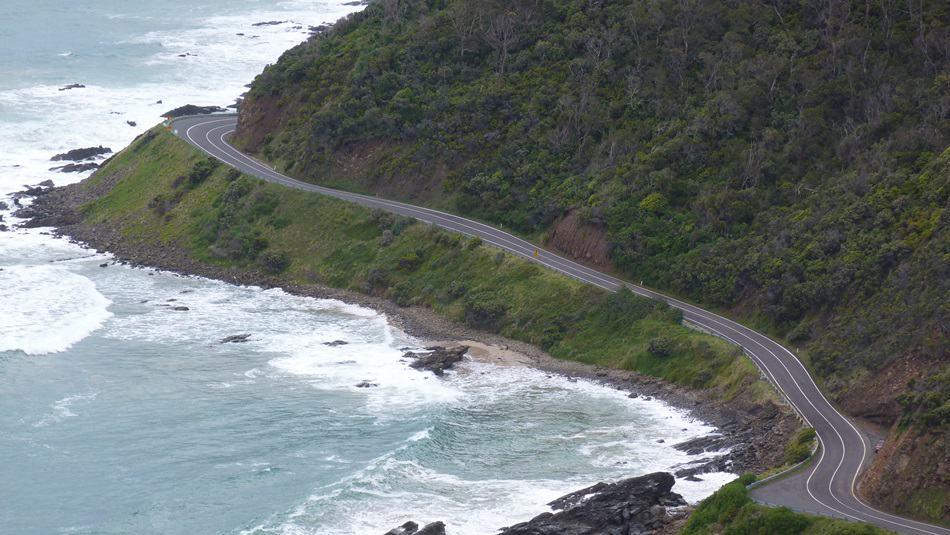 panorama della Great ocean Road