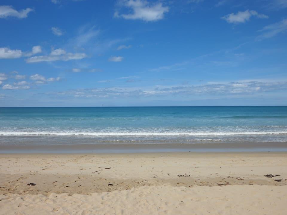 spiaggia lungo la grat ocean raoad