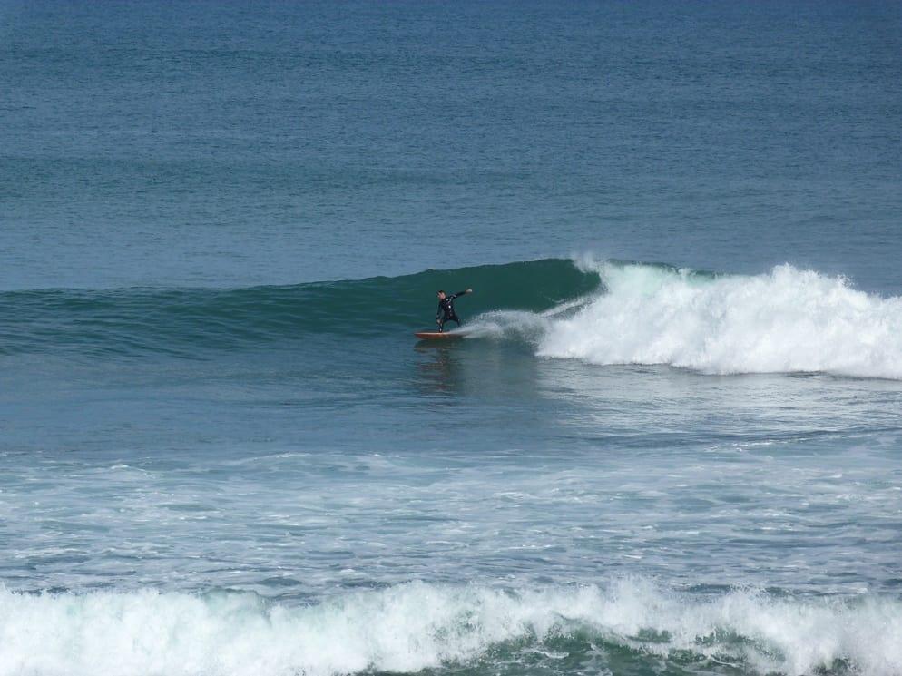 surfista a Bells Beach