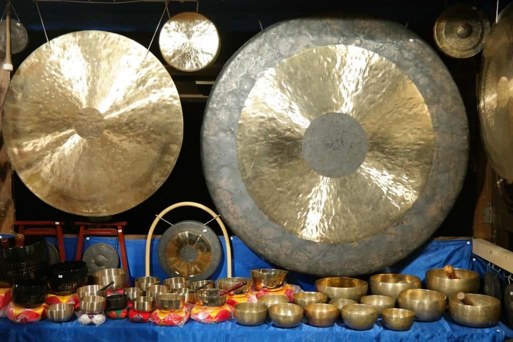 gong e campane tibetane
