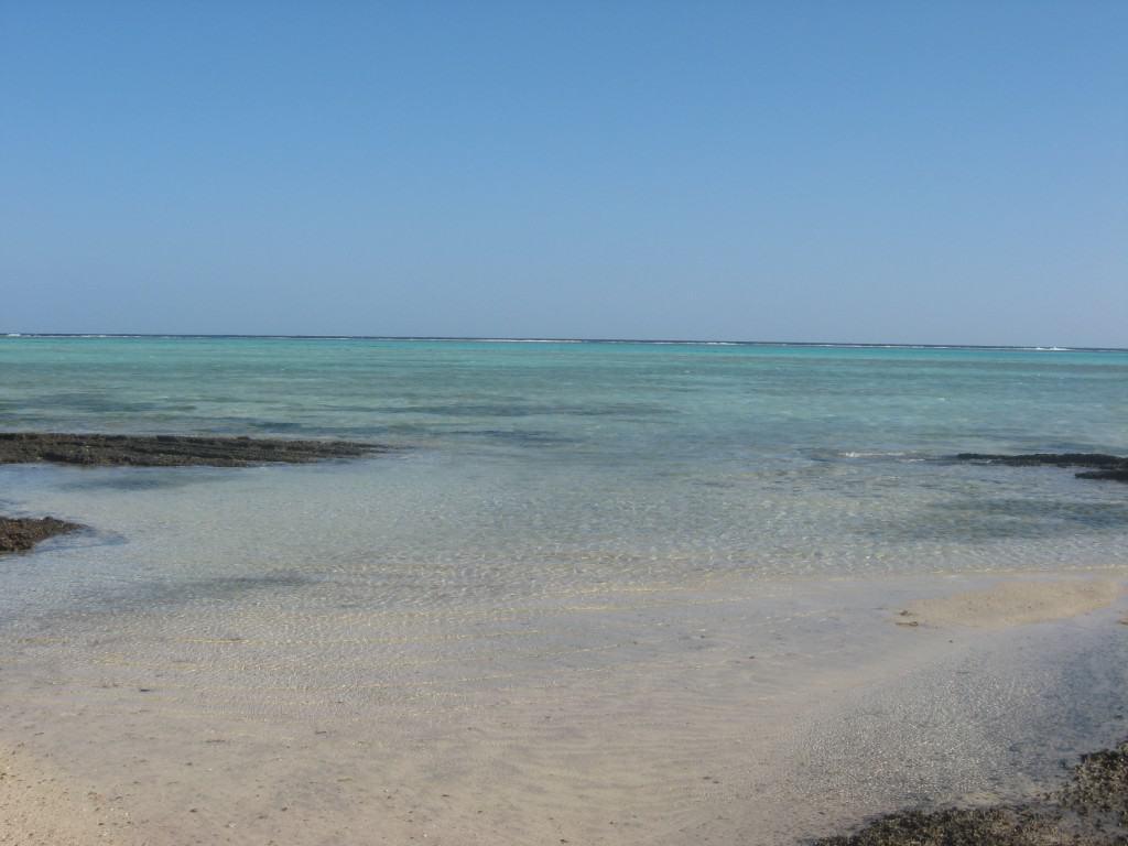 I colori del mare della laguna del Floriana