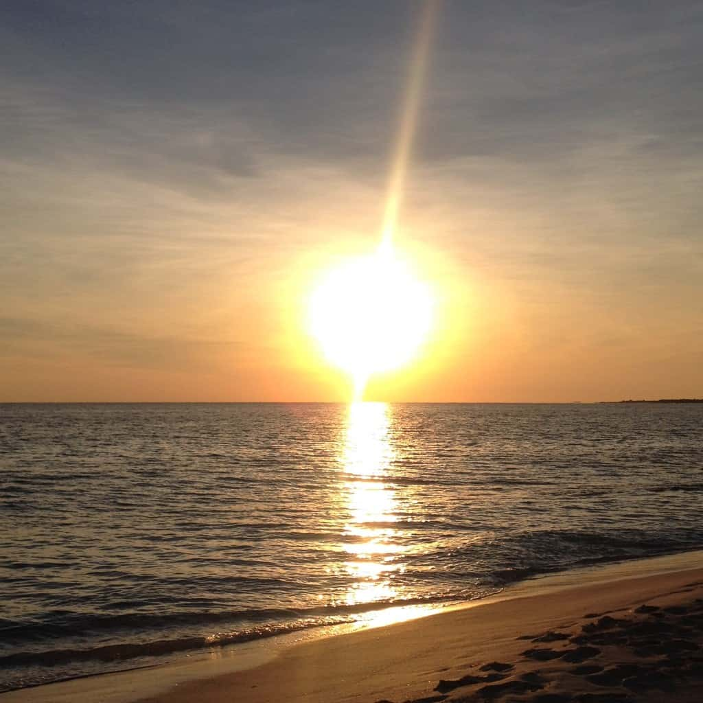 tramonto a cayo largo