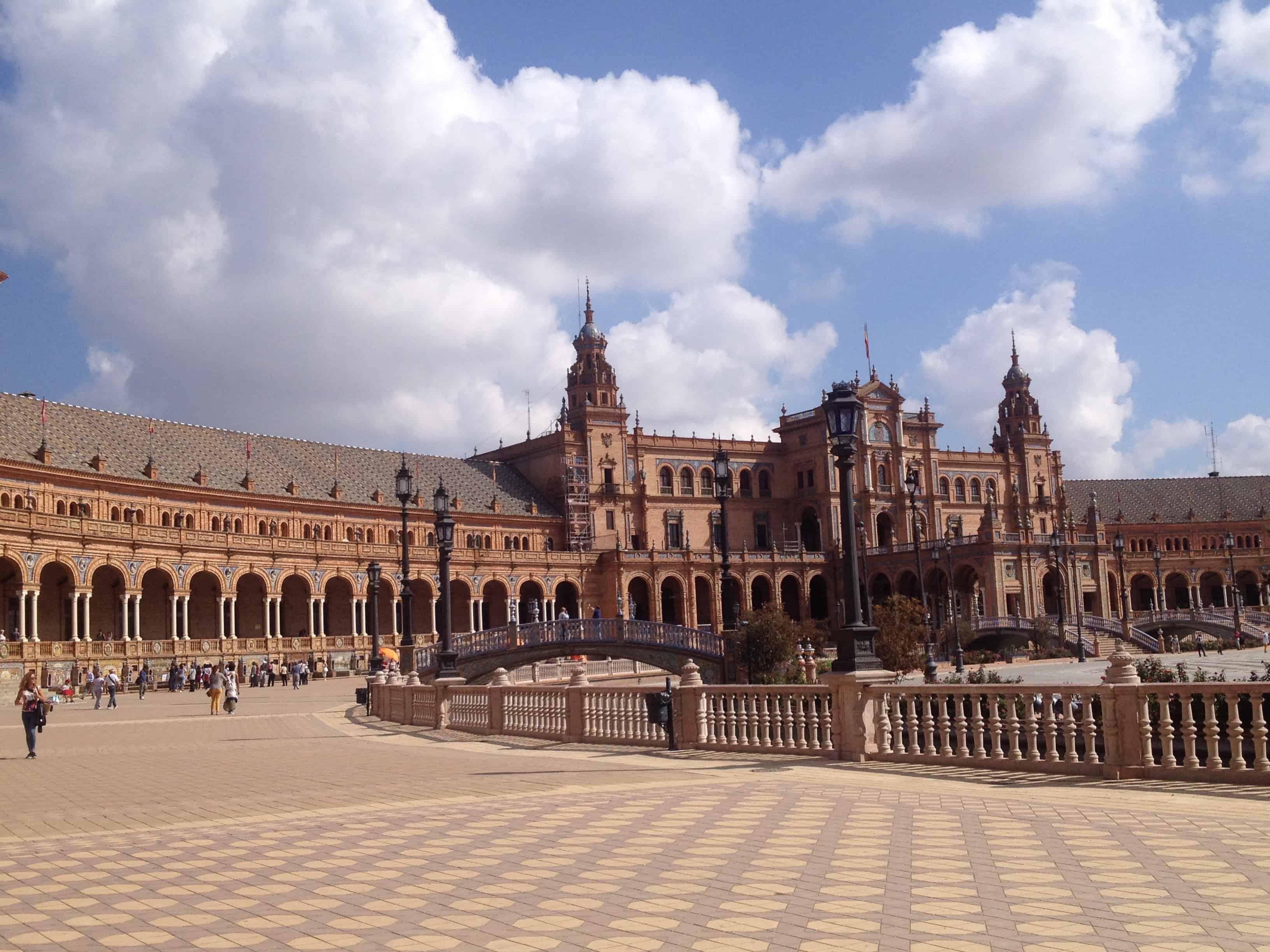 plaza de espana, siviglia, andalusia
