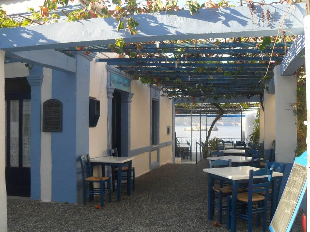 grecia, taverna greca, karpathos