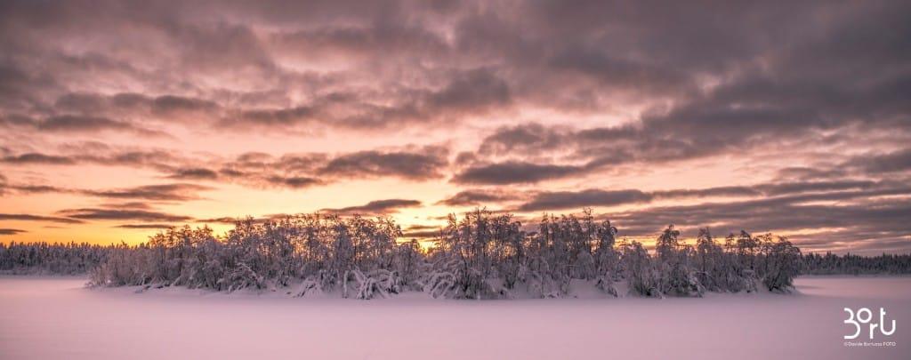 lapponia, capo nord, aurora boreale, neve