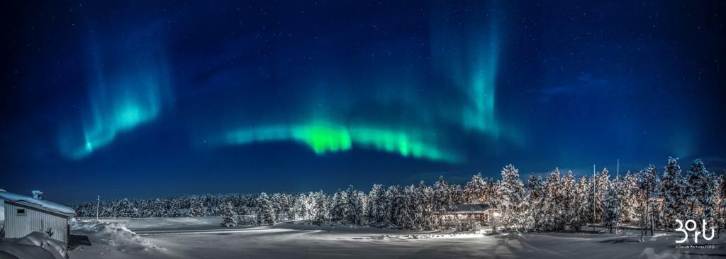 aurora boreale, luce, colori, emozione