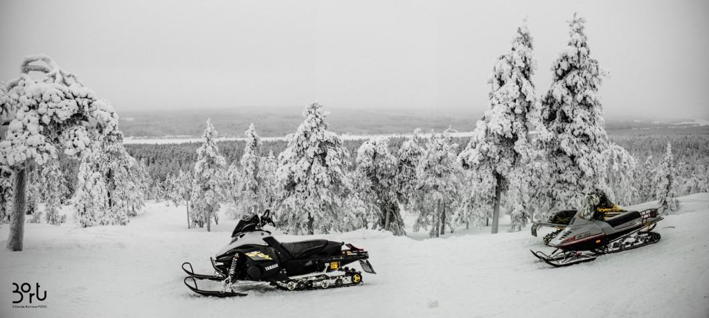 motoslitte, finlandia, neve