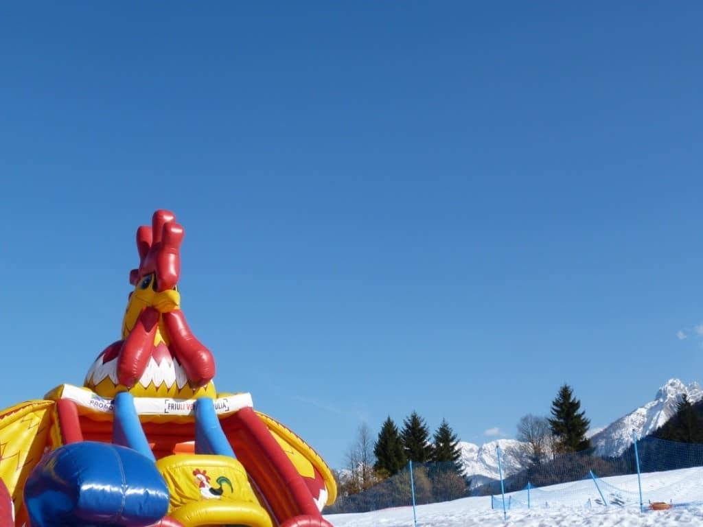 parco giochi sulla neve tarvisio