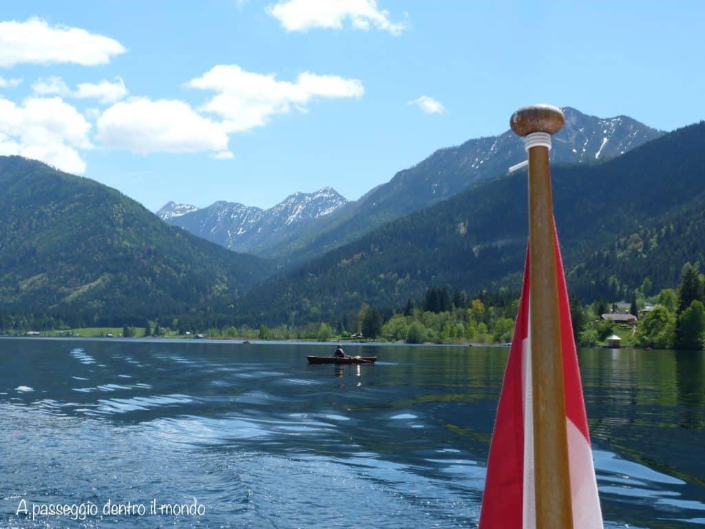 bandiera austria lago bianco