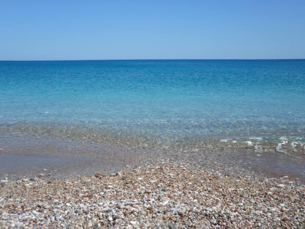 mare, spiaggia, colore azzurro, rodi, grecia, koimbia