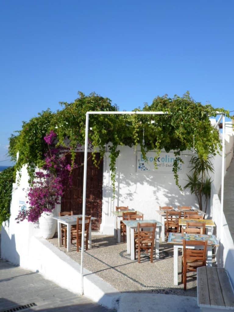 taverna greca, panorama, grecia, rodi