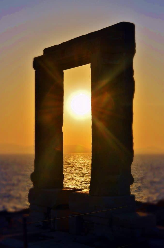 tramonto, grecia, europa