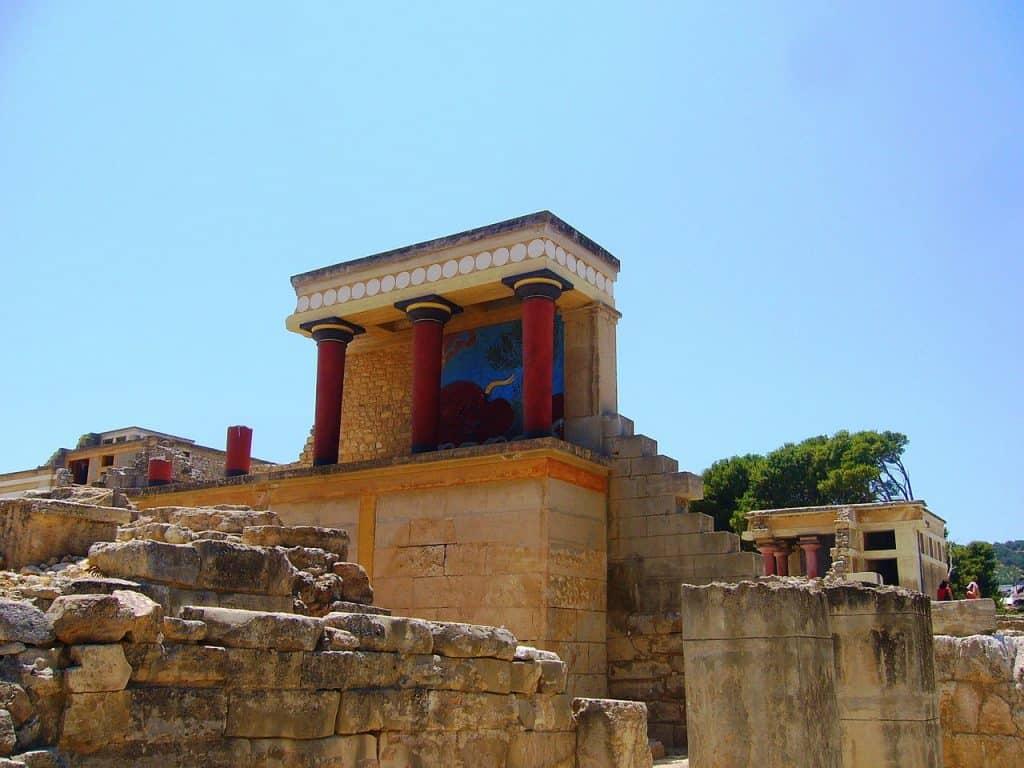 palazzo di knosso, creta, storia