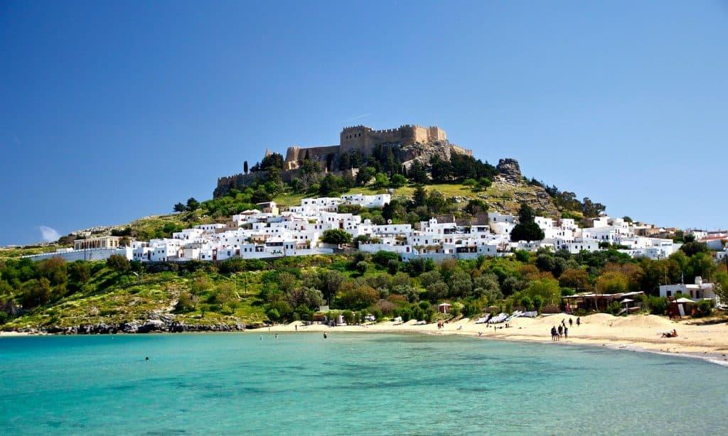 lindos, grecia, rodi