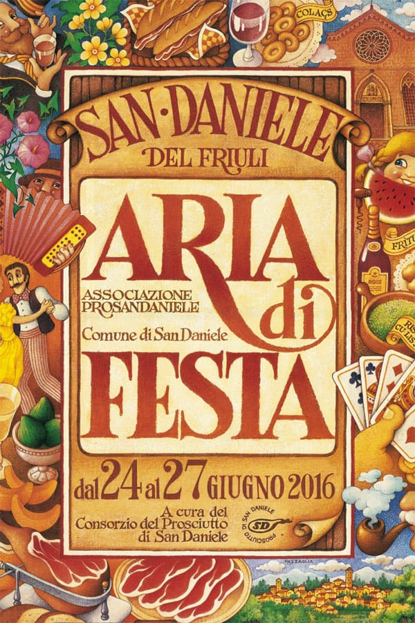 aria di festa 2016, festa, san daniele del friuli, friuli venezia giulia