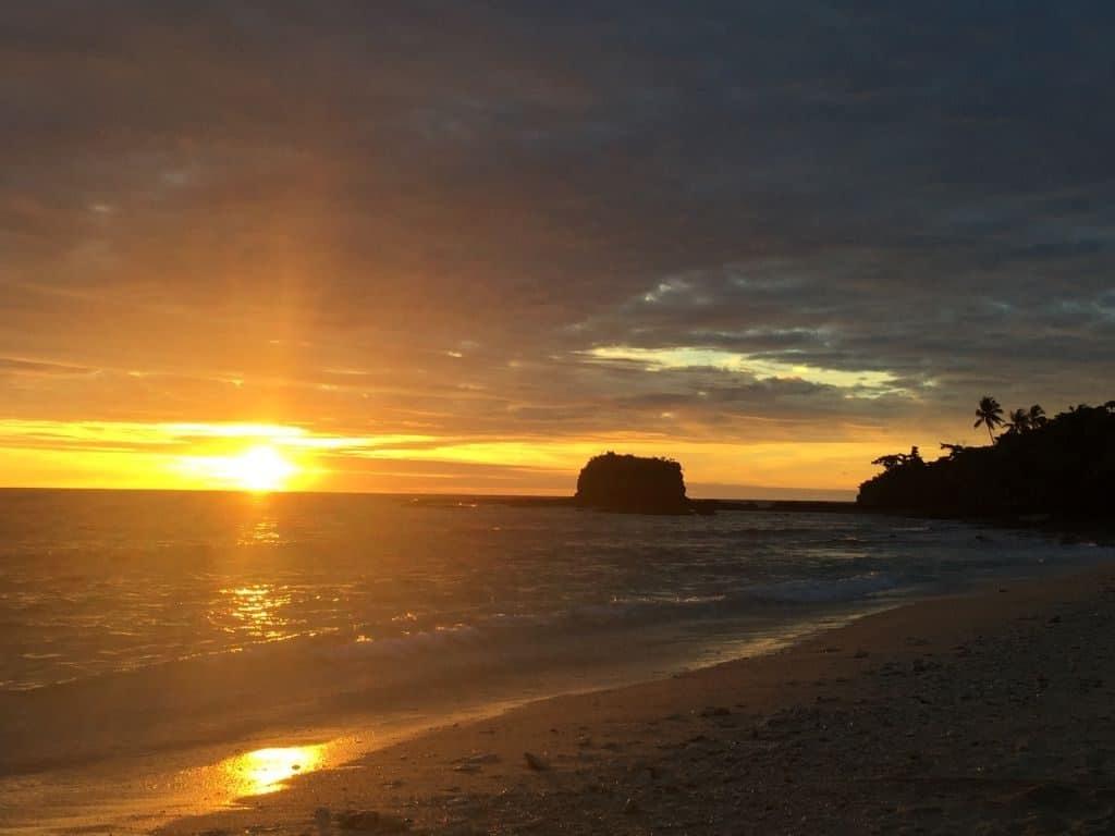 madagascar, mare, sole, tramonto