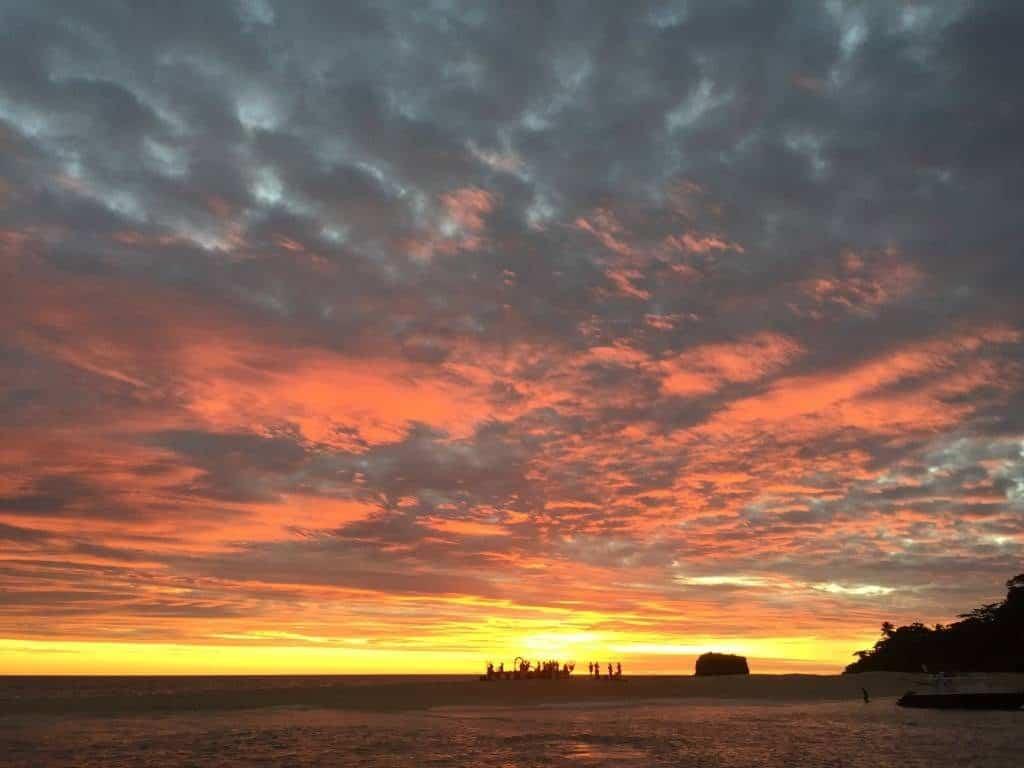 tramonto, mare, sole, madagascar