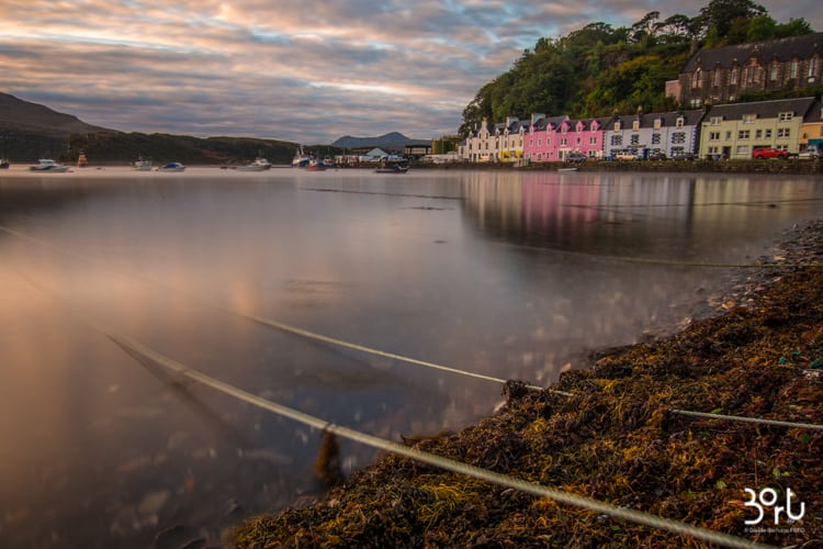 portree, scozia